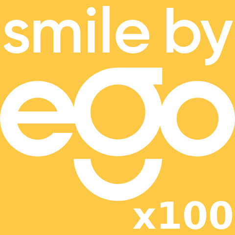 B2B 100x Pack smile by eGo | The Original