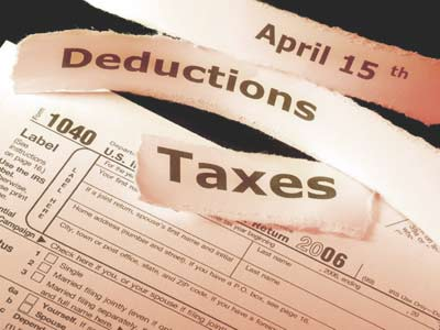 federal income tax deduction for state sales and use taxes paid by individuals.