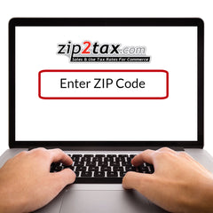Enter a ZIP code and get a tax rate
