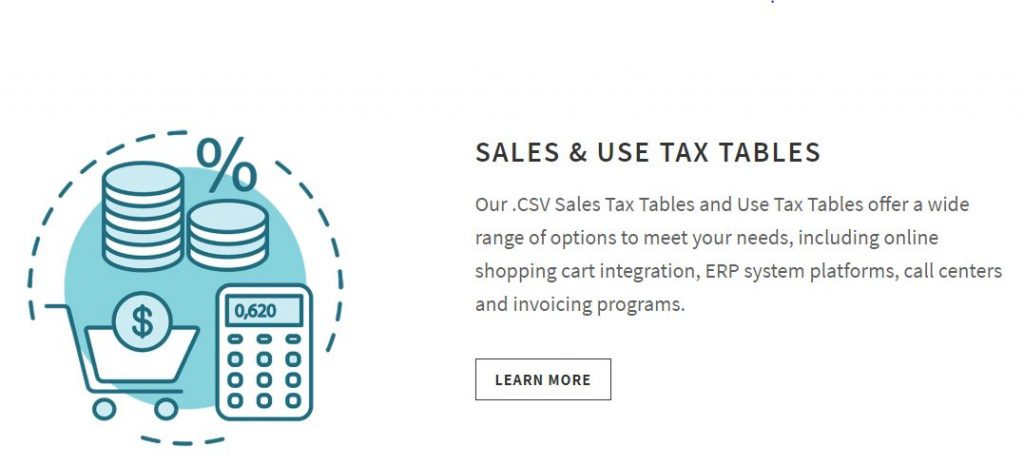 Tax Table Image