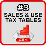 arizona sales tax rate from state sales tax rates tables from zip2tax