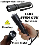 50% OFF [ 1101 type light flashlight with stun-gun]