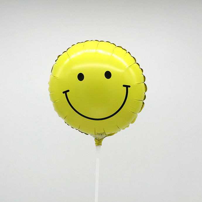 Smiley Face Stick Balloon