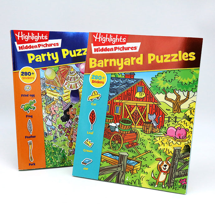 two Highlights activity books