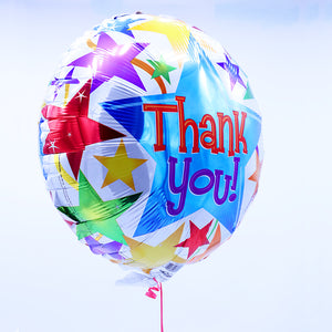 Mylar Helium Balloon - Thank You