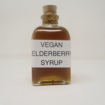 Vegan Elderberry Syrup