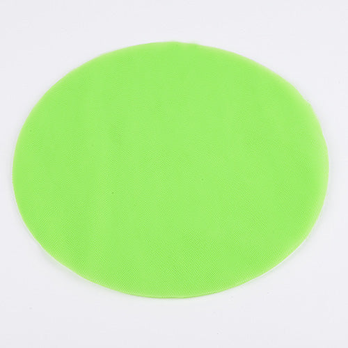 9 inch Apple Green Premium Tulle Circle