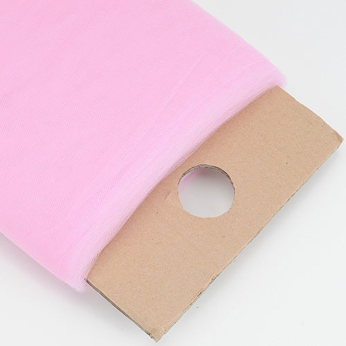 Pink - 54 Inch Premium Tulle Fabric Bolt ( W: 54 inch | L: 40 Yards )