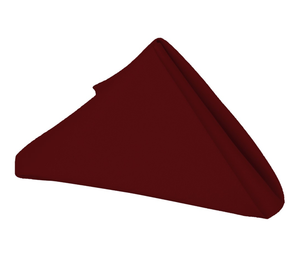 20 x 20 - 5 Pieces Burgundy 20 x 20 Polyester Napkins