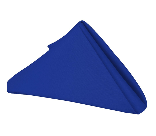 20 x 20 - 5 Pieces Royal Blue 20 x 20 Polyester Napkins