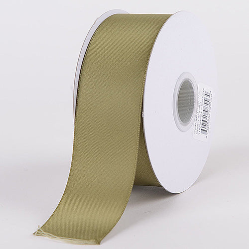 5/8 inch Spring Moss Satin Ribbon Double Face