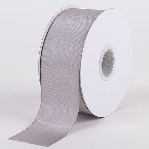 Silver - Satin Ribbon Double Face - ( W: 1-1/2 Inch | L: 25 Yards )