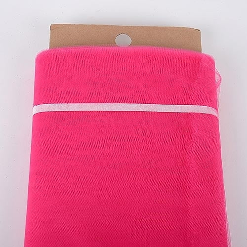 Fuchsia - 54 Inch Premium Quality Nylon Tulle Fabric Bolt ( W: 54 inch | L: 40 Yards )