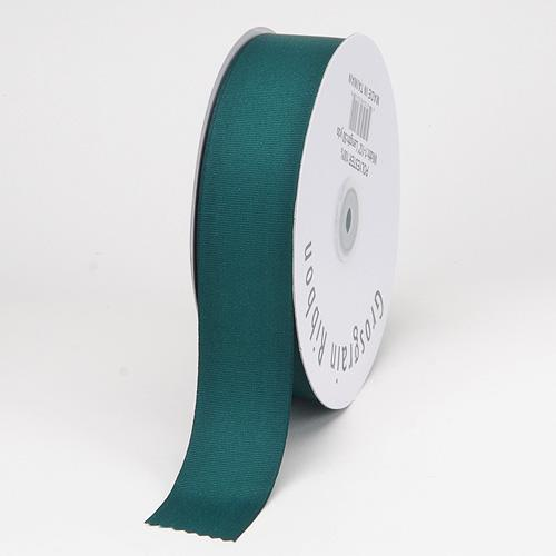 1-1/2 inch Hunter Green Grosgrain Ribbon Solid Color