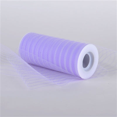 Lavender 6 Inch Multi Striped Tulle
