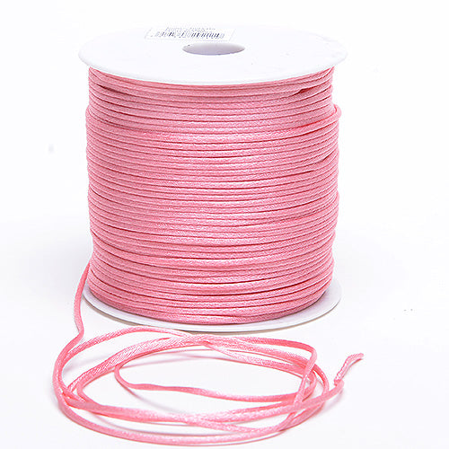 3mm x 100 Yards Mauve 3mm Satin Rat Tail Cord