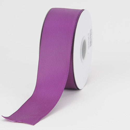 1-1/2 inch Orchid Satin Ribbon Wired Edge