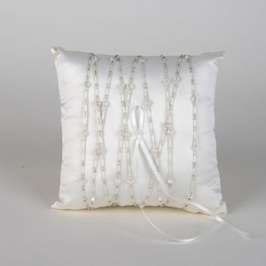 Ring Bearer Pillow Ivory ( 7 Inch x 7 Inch ) - 5573I