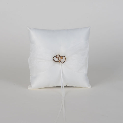 Ring Bearer Pillow Ivory ( 7 x 7 inches ) - 5635I