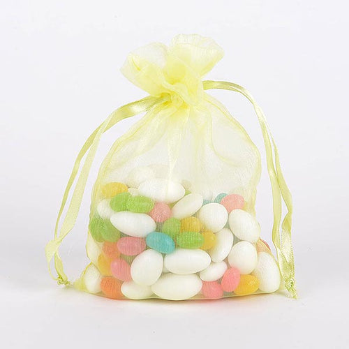 22x25.5 Inch - 10 Bags Baby Maize Organza Bag