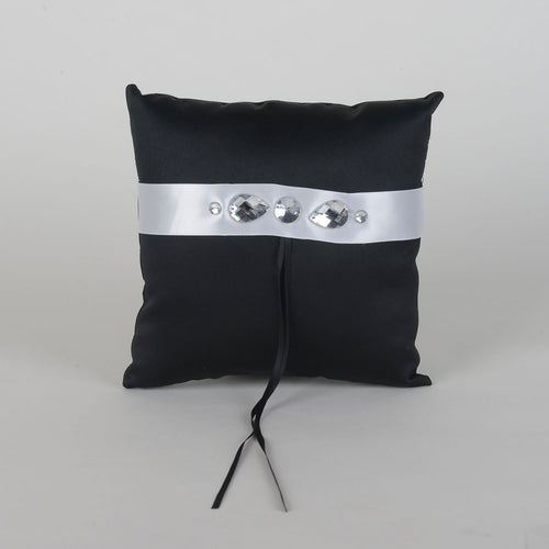 Ring Bearer Pillow Brown ( 7 x 7 Inch ) - 6101BW