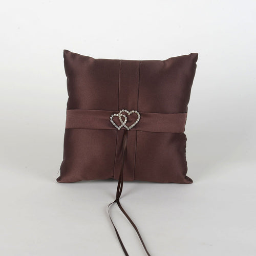 Ring Bearer Pillow Brown ( 7 x 7 Inch ) - 6302BR