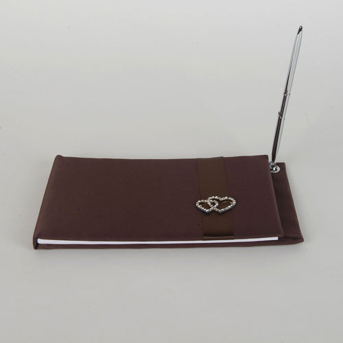 Wedding Guest Book Brown - 6303BR