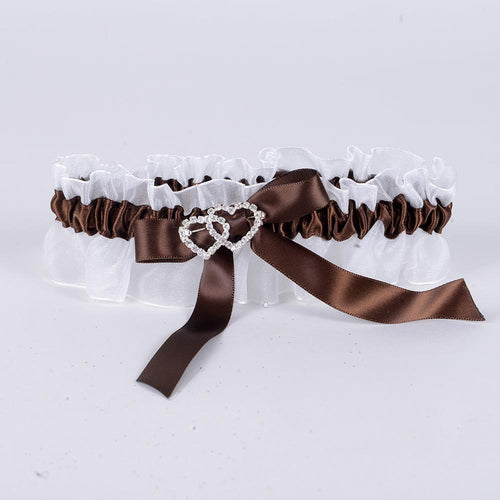 Lace Garters White ( 6 Inch Width ) - 6304BR