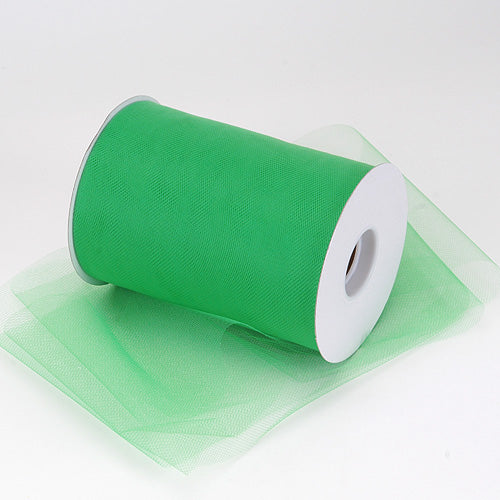 6 inch Emerald Premium Polyester Tulle 100 Yards