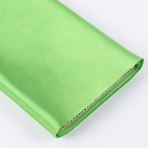 60 inch Apple Green Premium Satin Fabric