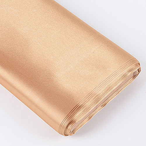60 inch Gold Premium Satin Fabric