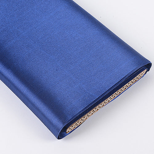 Navy Blue - Premium Satin Fabric - ( W: 60 inch | L: 10 Yards )