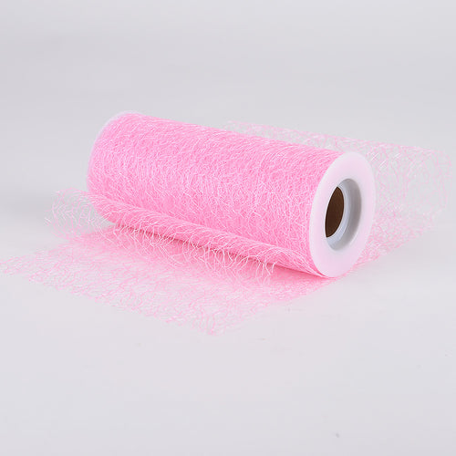 6 Inch x 10 Yards Light Pink 6