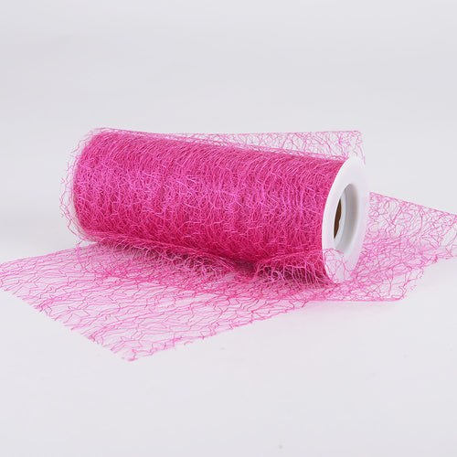 6 Inch x 10 Yards Fuchsia 6