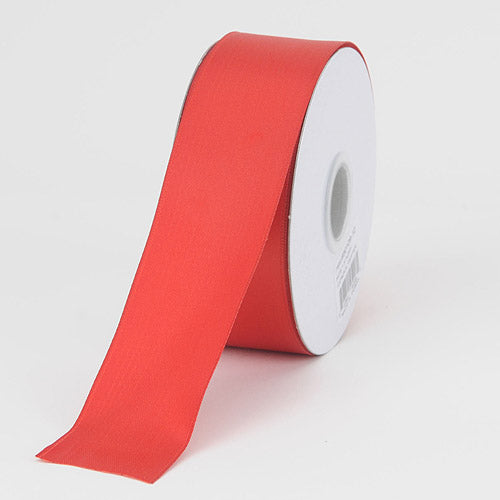 1-1/2 inch Red Satin Ribbon Wired Edge