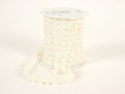 Unisize Ivory Flower Braid