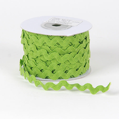 7mm - 25 Yards Moss Ric Rac Trim