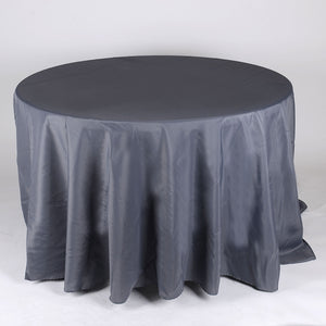 90 Inch Round Charcoal 90 Inch Round Tablecloths