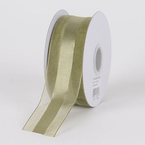 5/8 inch Old Willow Organza Ribbon Satin Center