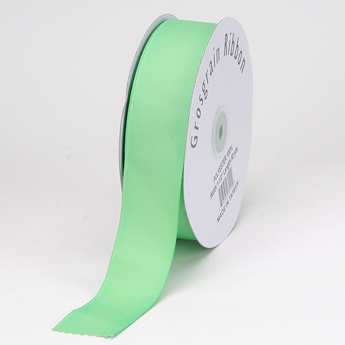 7/8 inch Mint Grosgrain Ribbon Solid Color
