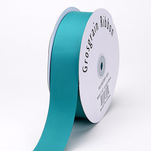 7/8 inch Jade Grosgrain Ribbon Solid Color