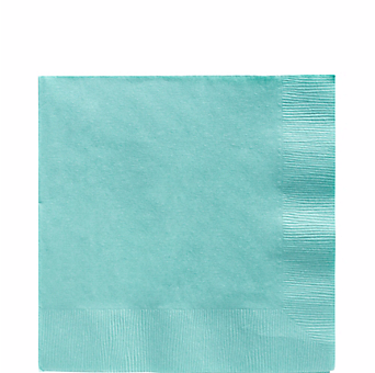 Aqua Blue luncheon paper napkins 50pcs