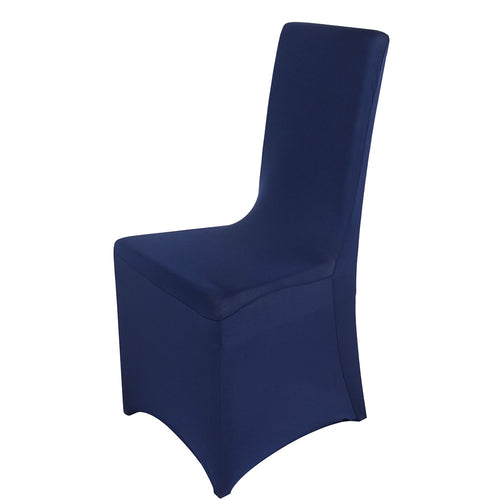 Spandex Banquet Chair Cover Navy Wholesale Chair Covers