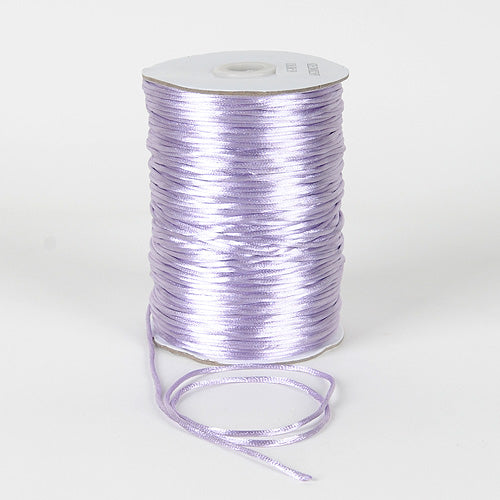 Lavender - 2mm Satin Rat Tail Cord - ( 2mm x 200 Yards )