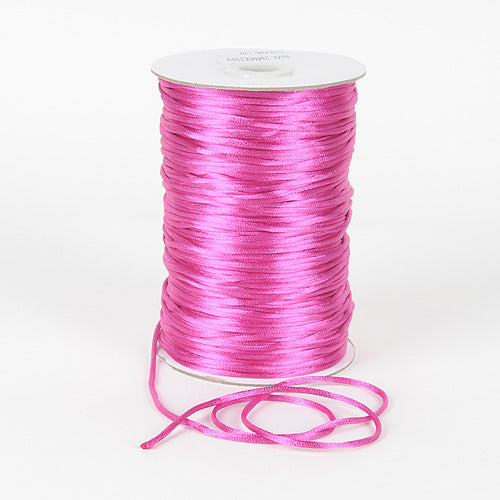 Azalea - 2mm Satin Rat Tail Cord - ( 2mm x 200 Yards )