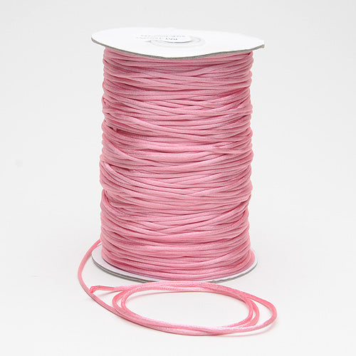Colonial Rose - 2mm Satin Rat Tail Cord - ( 2mm x 200 Yards )