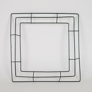 14 Inch Square Wreath Wire Frames - Bundle of 10pcs
