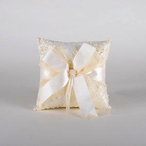Ring Bearer Pillow Ivory ( 8 x 8 inches ) - PL4826