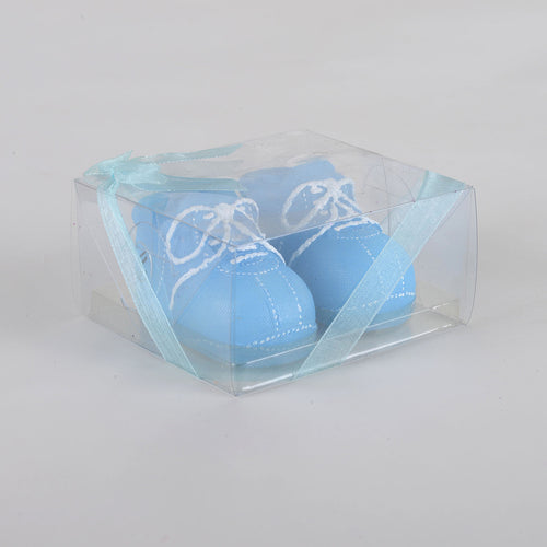 Baby Shoes Candle - Blue