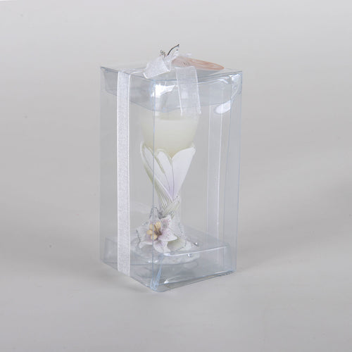 Calla Lily Toasting Flute Candle